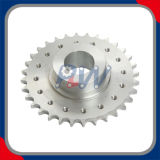 Roda dentada do aço inoxidável (aplicada no transporte de madeira e que transporta a maquinaria)