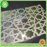 Farbe 304 ätzte Edelstahl-Stahlblech-Preis in Saudi-Arabien