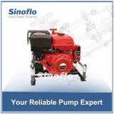 bewegliche Motor-Vakuumgrundieren-Feuer-Wasser-Pumpe des Benzin-13HP