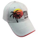 木のロゴBb92の白6のパネルの野球帽