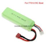 FT012 RC 배 11.1V 1800mAh 재충전용 리튬 이온 건전지