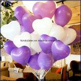 Decerationと結婚するための9インチの中心のShapelatexの気球