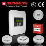 Painel de controle do alarme de incêndio dos numes para o projeto de construção grande (6001-02)