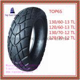 13/60-13tl, 120/60-13tl, 130/70-12tl, 120/70-12tl schlauchlos, Qualitäts-Motorrad-Reifen