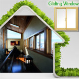 Finestra di scivolamento Finished popolare con la doppia finestra scivolante di alluminio di vetro, di alta qualità & di prezzi poco costosi per Vilia