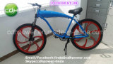 Голубым велосипед Mag цвета моторизованный колесом, мотор газолина топлива, велосипед двигателя