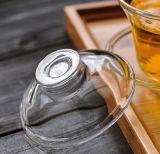 Jogos de chá de vidro personalizados de Kung Fu da bacia do chá do copo de chá do logotipo