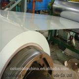 A cor branca G350 da pérola de China Prepainted bobinas galvanizadas do aço PPGI