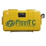 Kundenspezifischer gelber Produkteinführungs-Kabel-Kasten des Singel Modus-OTDR