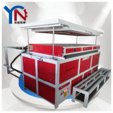 Вакуум HIPS/ABS/PC/PVC/PETG/HDPE/PP/PMMA формируя машину для сбывания
