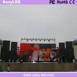 Schermo di pubblicità esterno di colore completo LED del Governo della pressofusione il video