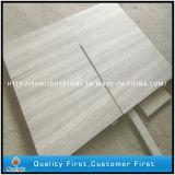 Plancher en bois de pierre de marbre des graines de blanc chinois pour la cuisine et la salle de bains