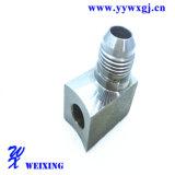 Ajustage de précision hydraulique femelle de soudure d'acier inoxydable