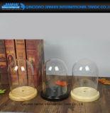 Стеклянный колпак Cloche индикации сбор винограда экстренный круговой стеклянный