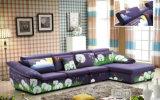 方法デザイン現代L形ファブリックソファー、ホーム家具(2166A)