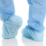 Zahnmedizinische Wegwerfprodukt-nicht sterile gleitsichere Schuh-Deckel
