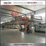 WJ1600-2200 trois/cinq/sept manient la chaîne habilement de production de carton ondulé