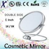Uno specchio cosmetico da tavolino bello dei 6 '' doppi lati