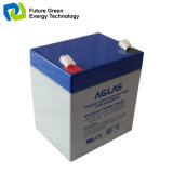 nachladbare gedichtete Leitungskabel-Säure-Batterien AGM-12V4.5ah für Warnung