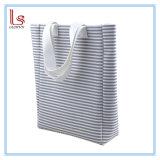 卸し売りアマゾン熱い販売の綿16Aのキャンバスの耐久力のある縞のショルダー・バッグ