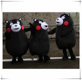 Costume bello del personaggio dei cartoni animati della mascotte di Kumamon