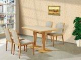 Tabela e cadeira duráveis de madeira do restaurante da mobília do restaurante do fast food
