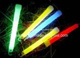 Glow hasta 12 horas 6 pulgadas palillo del resplandor