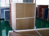 Condensador de Tubehvac do cobre da aleta de Hydrophlic