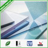 Strato solido colorato del PC di plastica del materiale da costruzione per la barriera sana