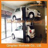 sistema del estacionamiento de Mechnical del poste 2300kg dos para el hogar y el uso comercial