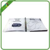 Zoll gedruckte Papppapier-Hebel-Bogen-Datei-Ring-Mappe