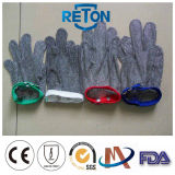 Steel inoxidável Mesh Anti-Cut Glove para Butcher/Meat Processing Chain Mail Glove/Metal Mesh Glove