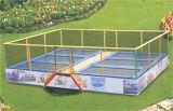 Parque interno do Trampoline para miúdos