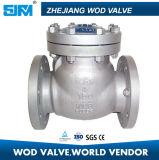 Задерживающий клапан H14W-4 качания нержавеющей стали