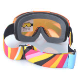 卸売は交換可能なレンズが付いているガラスのスキーヘルメットのゴーグルを遊ばす