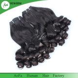 Cabelo brasileiro de Aofa Fumi com cabelo humano não processado do cabelo o mais fino do Virgin