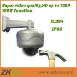 IP66 Waterproof a câmara de segurança do rádio da câmera do IP da abóbada do IR