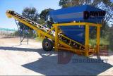 Planta de tratamento por lotes seca com um silo de 50 toneladas