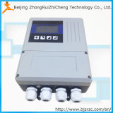 Compteur de débit acide de débitmètre électromagnétique de prix bas