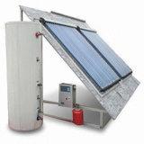 熱い分割加圧太陽給湯装置システム