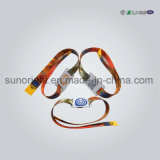 Bracelet d'IDENTIFICATION RF tissé par tissu interurbain de contrôle d'accès de fréquence ultra-haute