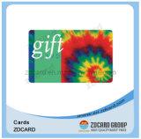 Cartões pagados antecipadamente do pagamento do presente do PVC da impressão de cor cheia cartão plástico