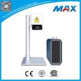 Equipo plástico de alta velocidad del grabador del laser de la fibra del metal 10W