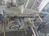 ウォータージェットの織機のための織物機械
