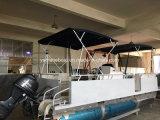 boot van het Ponton van het Aluminium van de Verkoop van 6m de Hete Recreatieve Drijvende voor Visserij