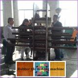 Tuile Xlb550 en caoutchouc faisant la machine et le caoutchouc couvrir de tuiles la presse de vulcanisation