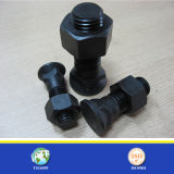 Galvanisé/Black Finish Bolt et Nut