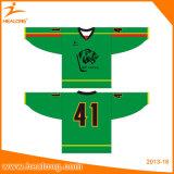 Healong Spandex-Digital gedrucktes kundenspezifisches Eis-Hockey Jersey