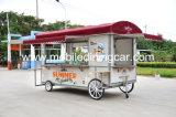 De populaire Mobiele Aanhangwagen van het Voedsel met het Lange Leven van de Dienst