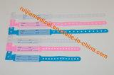 Identificação médica descartável Band/ID do bracelete da identificação